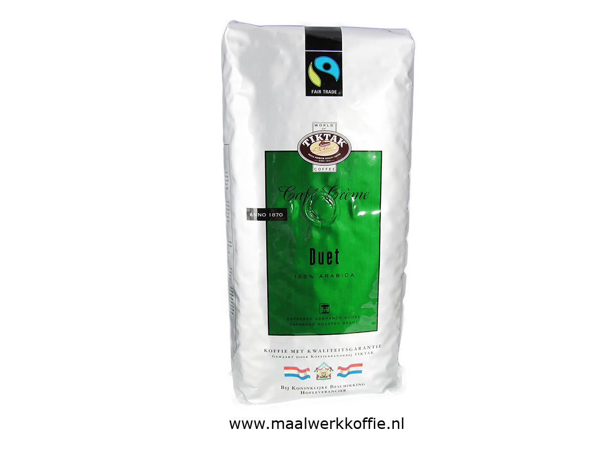 Tiktak Duet Fairtrade Bonen 1000gr