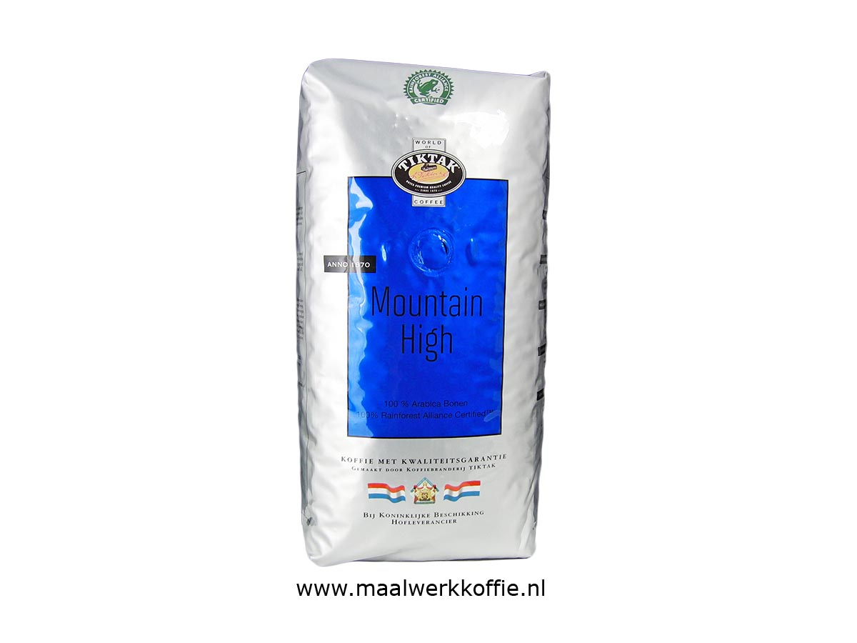 Tiktak Mountain High Rainforest Alliance 1000gr