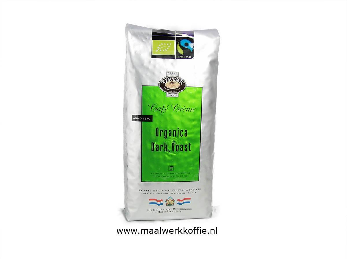 Tiktak Bio Organica Fairtrade Bonen 1000gr