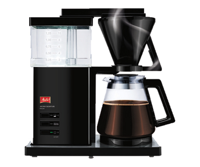 Melitta® AromaSignature® Black Filterkoffie machine