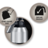 Melitta® Aroma Elegance Therm Deluxe Filterkoffie Machine