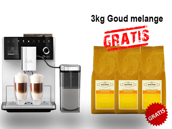 Melitta-CI-Touch Zilver
