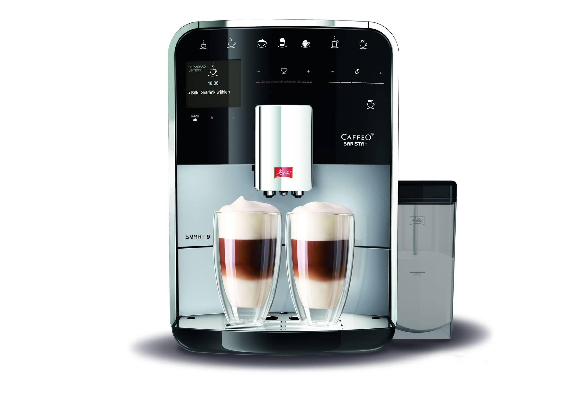 MELITTA CAFFEO BARISTA SMART T ZILVER F830-101